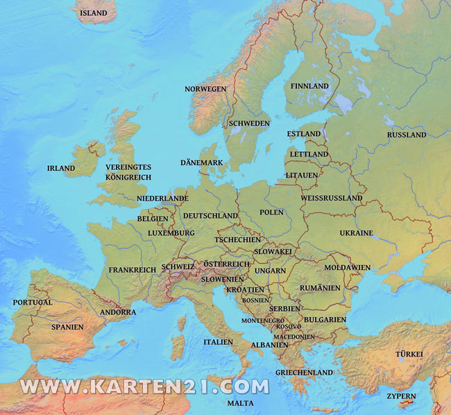 arbeitsblatt vorschule 187 l228nder europas mit hauptst228dten